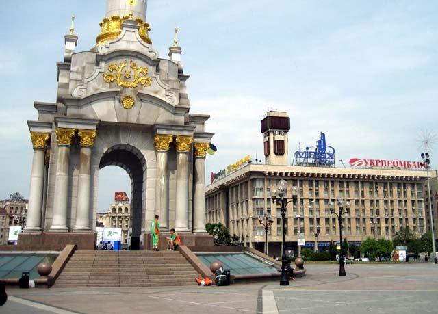 Центр Киева, Украина