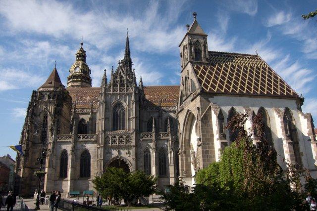 Кафедральный собор в Кошице, Словакия