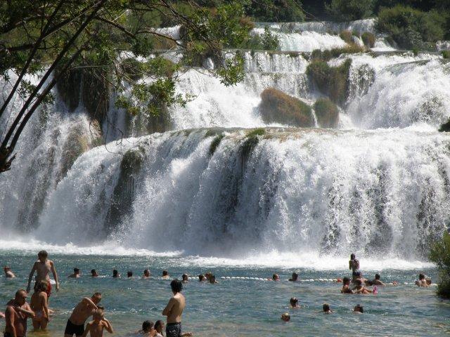 Река Крка, Хорватия