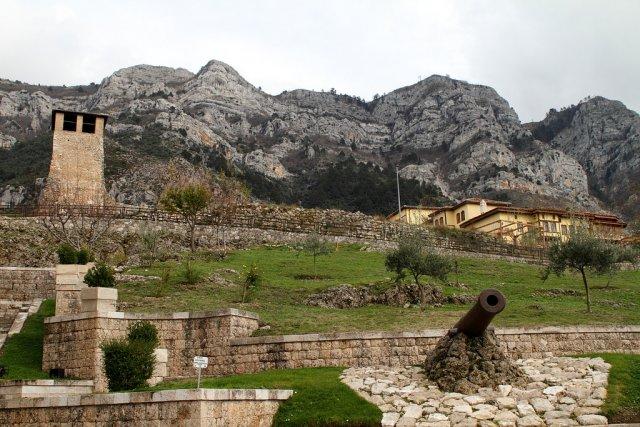 Крепость Круя, Албания