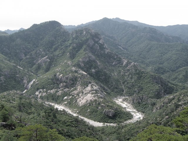 Горы Кымгансан, Северная Корея