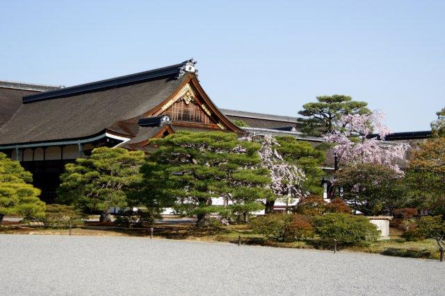 Императорский Дворец в Киото (Kyoto Gosho), Япония
