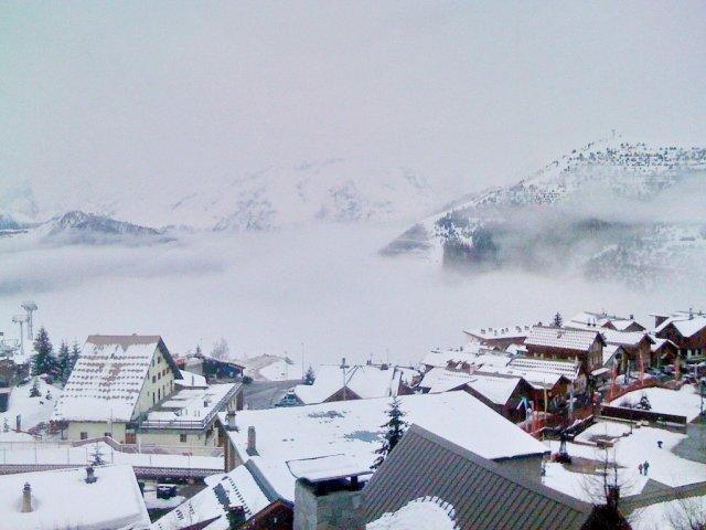 Горнолыжный курорт Альп-д'Юэз, Франция