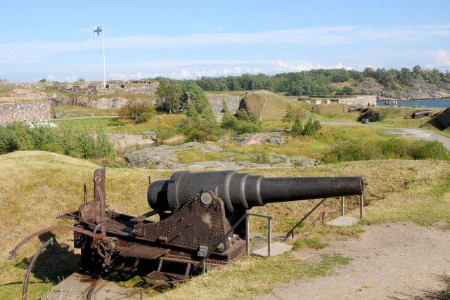 Морская крепость Суоменлинна, Хельсинки, Финляндия
