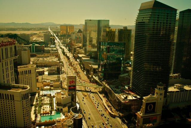 Улица Стрип в Лас-Вегасе, США