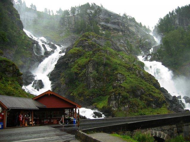 Водопад Лотефоссен, Норвегия
