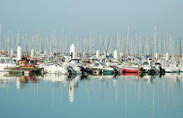 Порт в Гавре, Франция