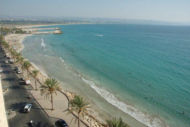 Пляжи Ливана