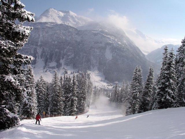 Горнолыжный курорт Лех, Австрия