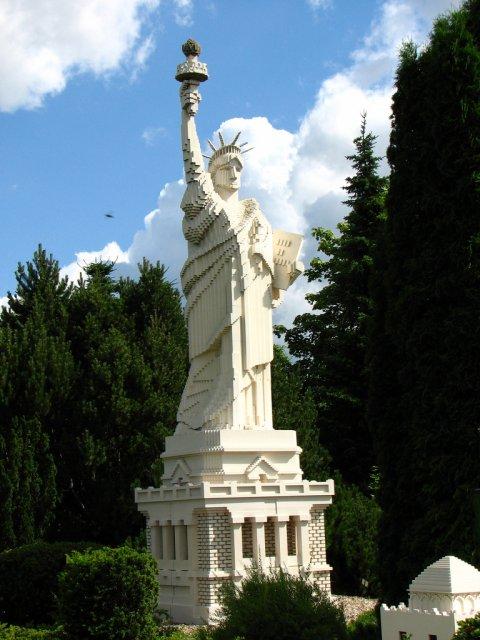 Статуя Свободы, Леголэнд, Дания