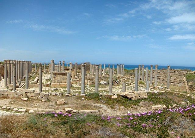 Древний город Лептис-Магна, Ливия