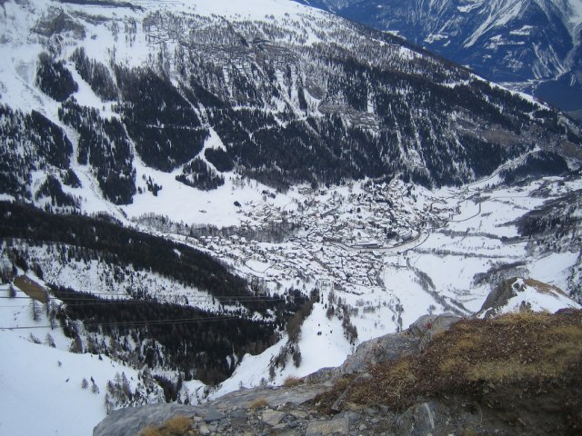 Лейкербад зимой, Швейцария