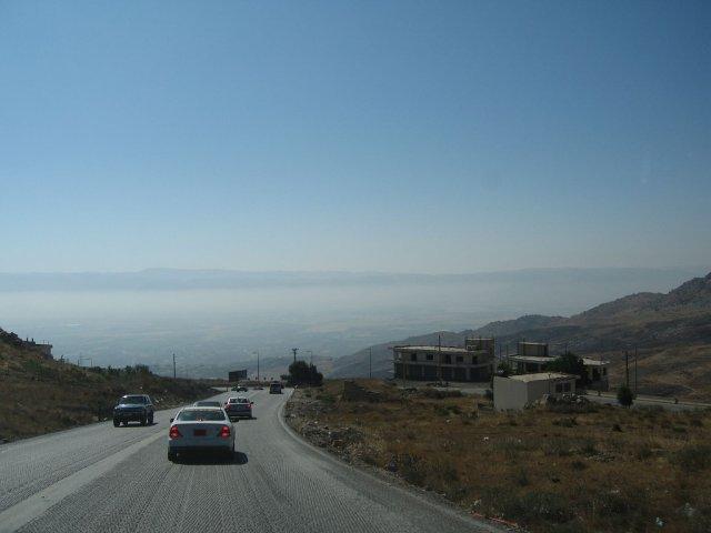 Дорога в долину Бекаа, Ливан