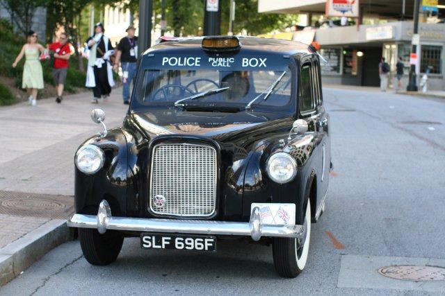 Лондонское такси, Великобритания