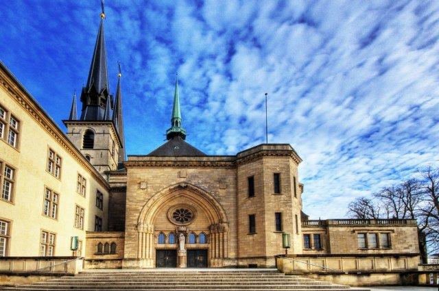 Кафедральный Собор в Люксембурге