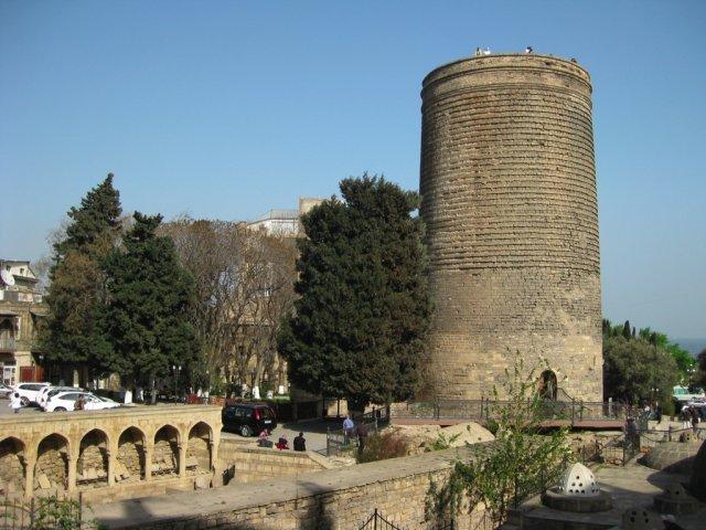 Девичья Башня, Баку, Азербайджан