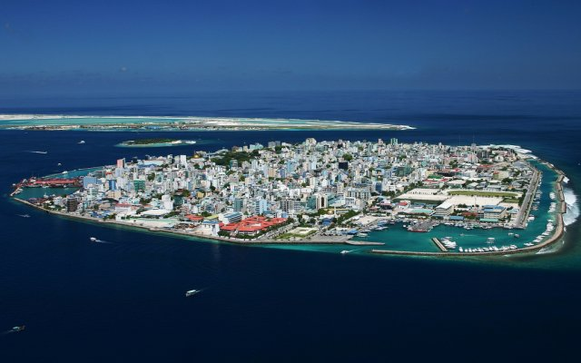Город Мале - столица  Мальдивских островов