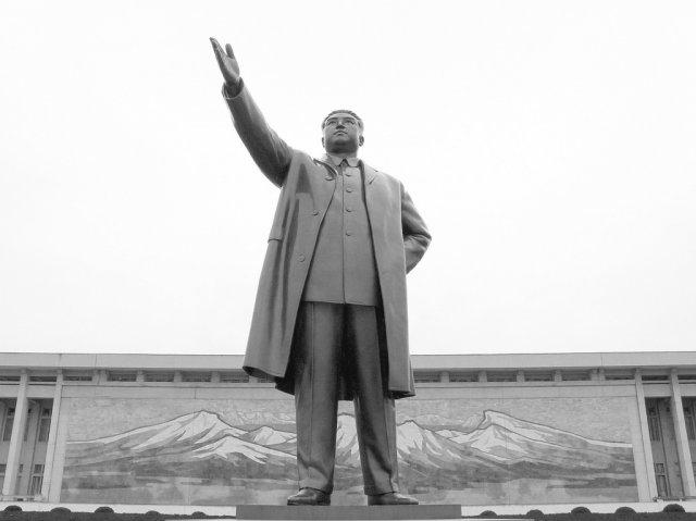 Монумент Мансудэ, Пхеньян, Северная Корея