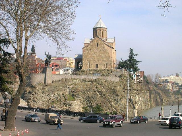 Храм Метехи, Тбилиси, Грузия