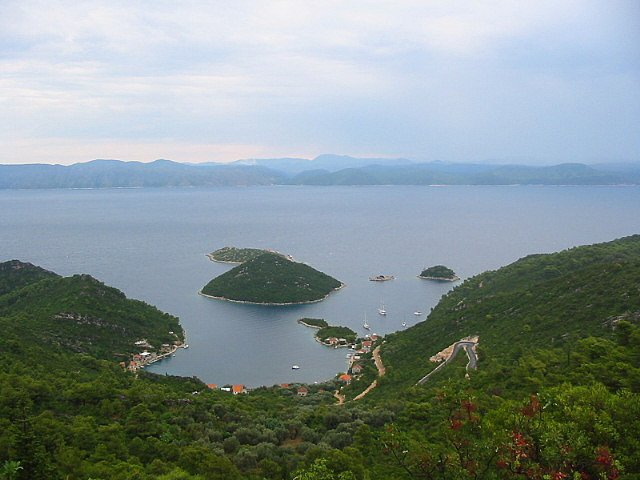 Остров Млет, Хорватия