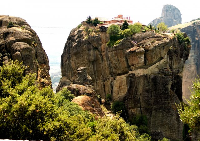 Монастырь Святой Троицы, Каламбака, Греция