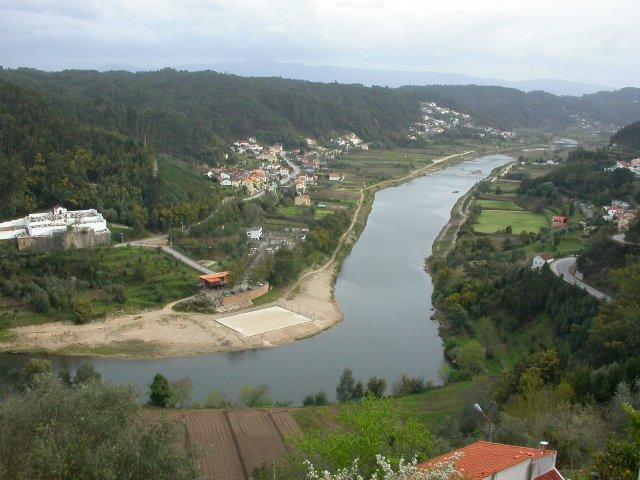 Река Мондегу, Португалия