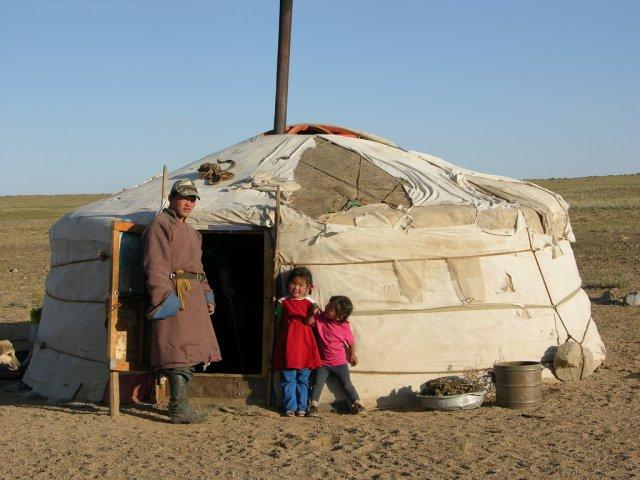 Юрта - традиционное жилище монголов
