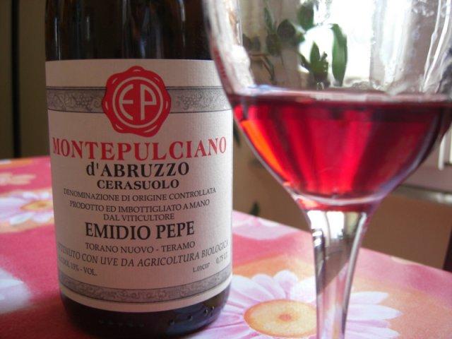 Красное вино «Монтепульчано д'Абруццо»
