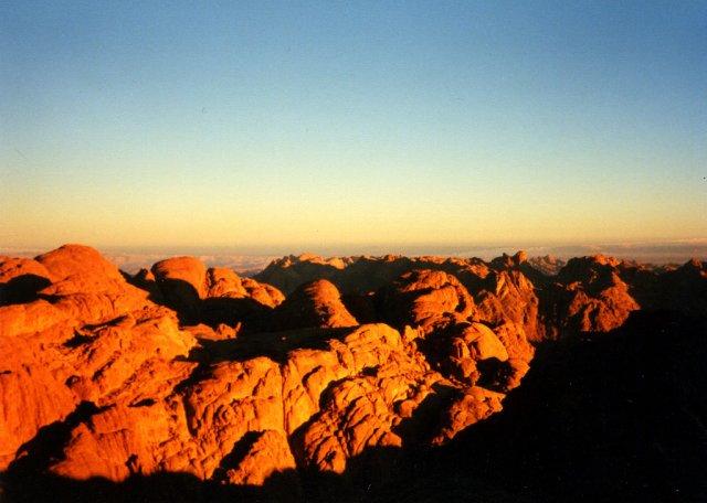 Восход на горе Моисея, Египет