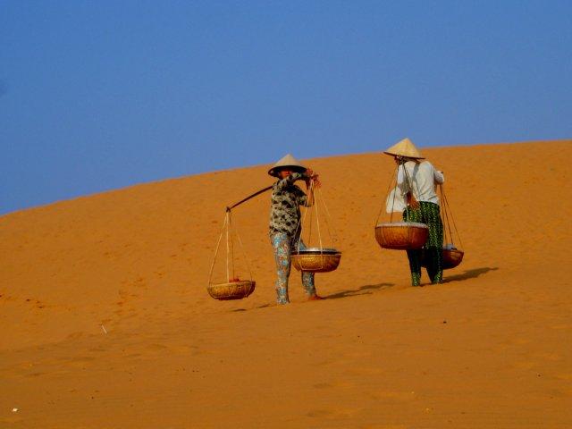 Песчаные дюны, Муйне, Вьетнам