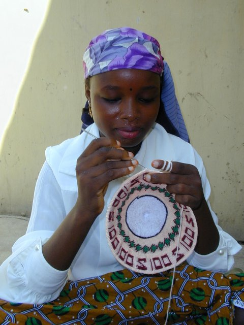 Нигерийская девочка