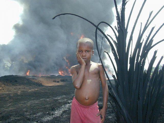 Нигерийский мальчик
