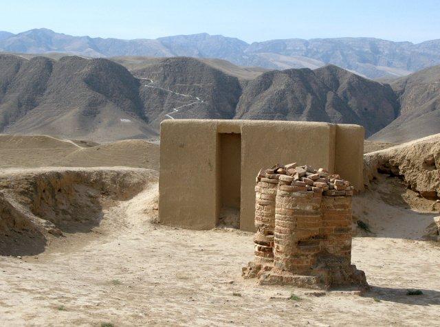 Старый город Ниса в окрестностях Ашхабада, Туркменистан