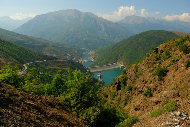 Северная Албания на границе с Косово