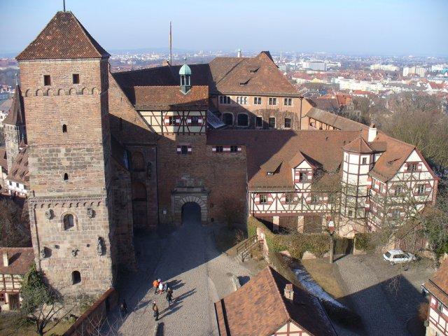 Нюрнбергская крепость, Германия