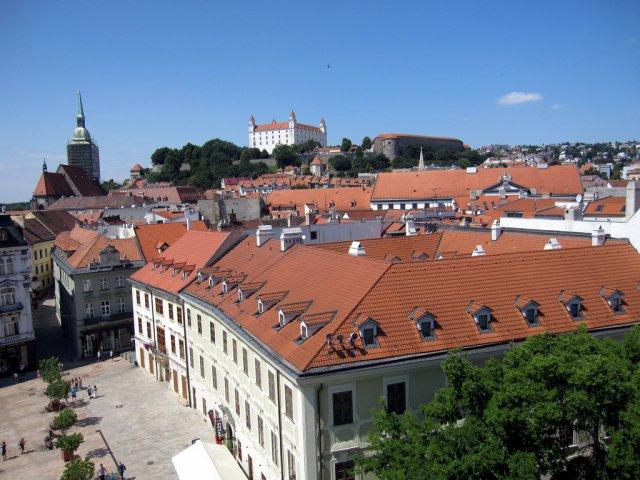 Старый город Братислава, Словакия