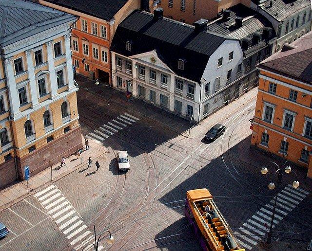 Старинные здания Хельсинки, Финляндия