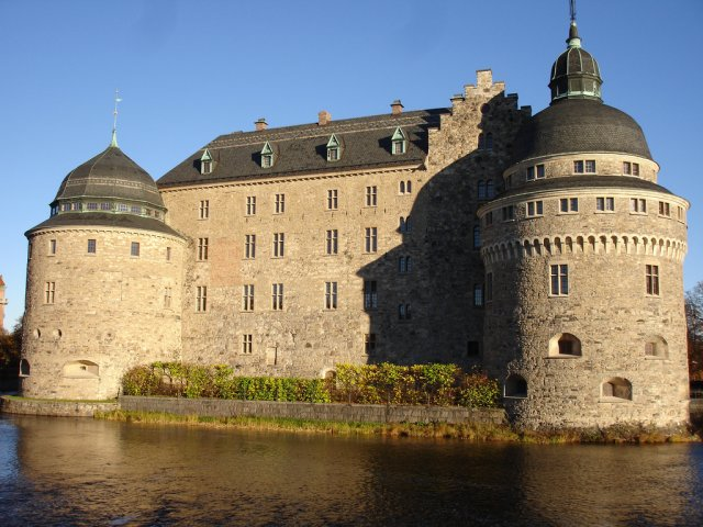 Замок Эребру, Швеция