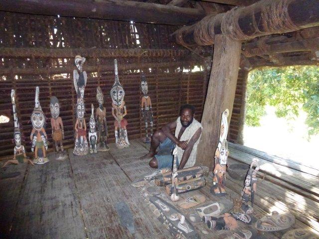 Это в Доме духов или ритуальном доме