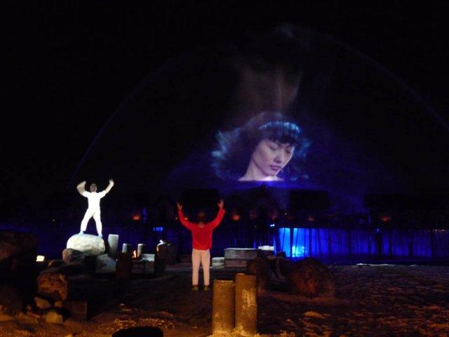 Лазерное шоу Song of the Sea, Сентоза