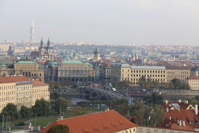 Крыши Праги, Чехия