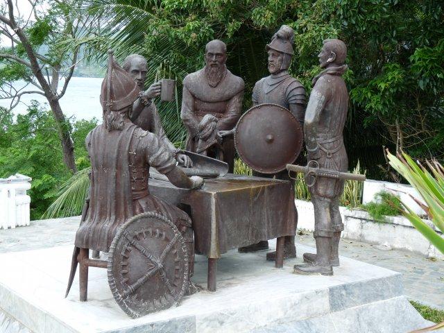 Сандуго – ритуальный договор между испанцами и филиппинцами