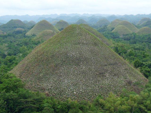Шоколадные холмы (Chocolate Hills), Бохол, Филиппины