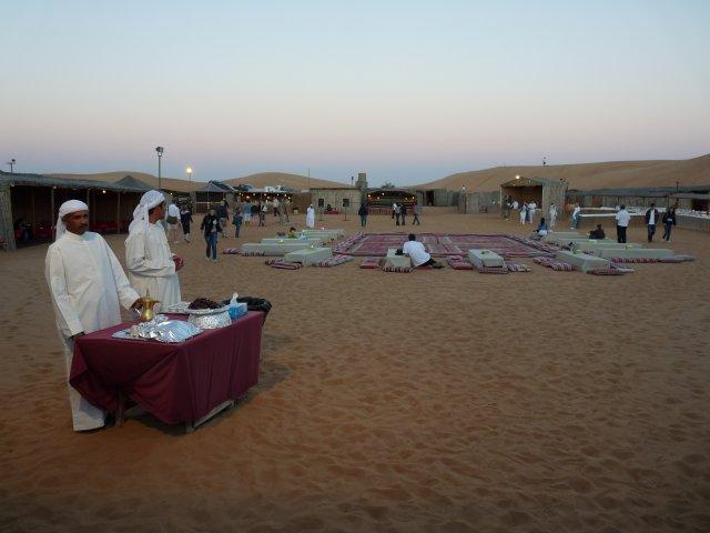 Деревня бедуинов в пустыне, Дубай