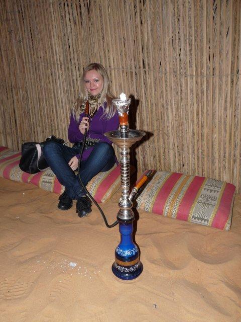 Кальян в деревне бедуинов, Дубай