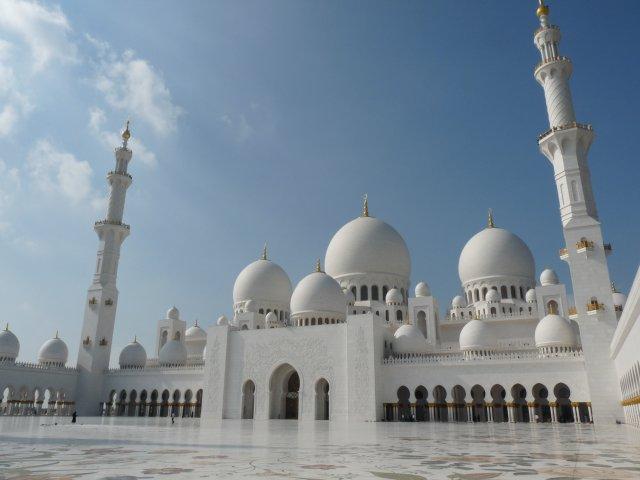 Мечеть Шейха Зайеда, Абу-Даби