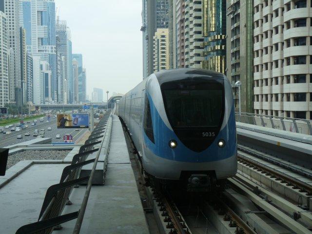 Метро в Дубае, ОАЭ