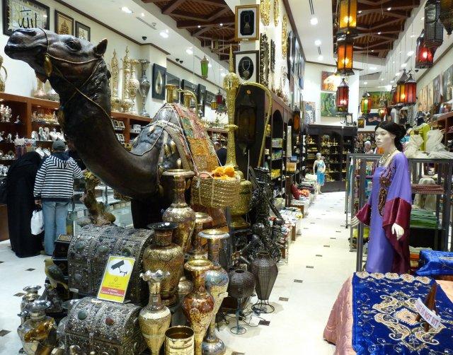 Магазин сувениров, Дубай