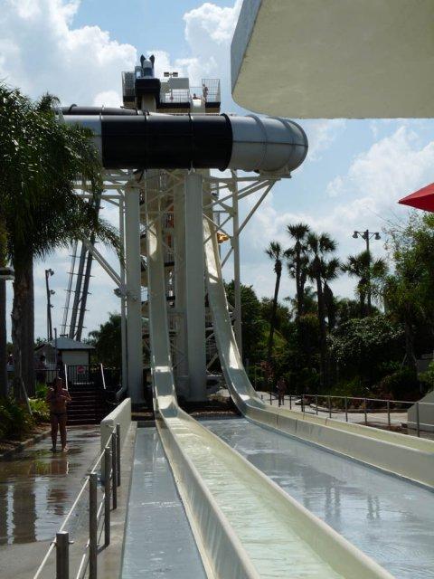 The bomber, Aquapark WET'N WILD, Флорида