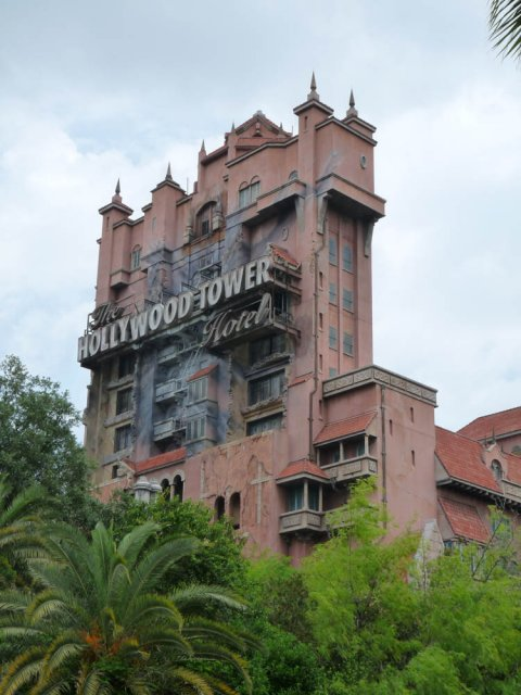 Hollywood Tower Hotel, Disneyland, Флорида